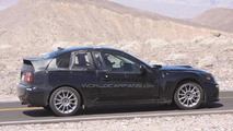 Toyota/Subaru FT-86 Coupe mule spy photo
