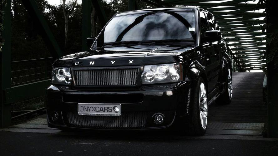 Onyx Concept Enhances Range Rover Sport
