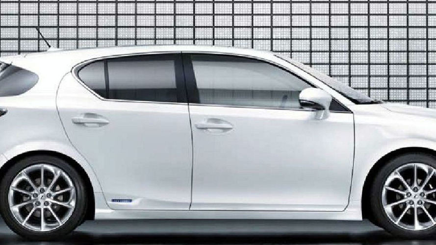 Lexus CT 200h Full Details Leaked