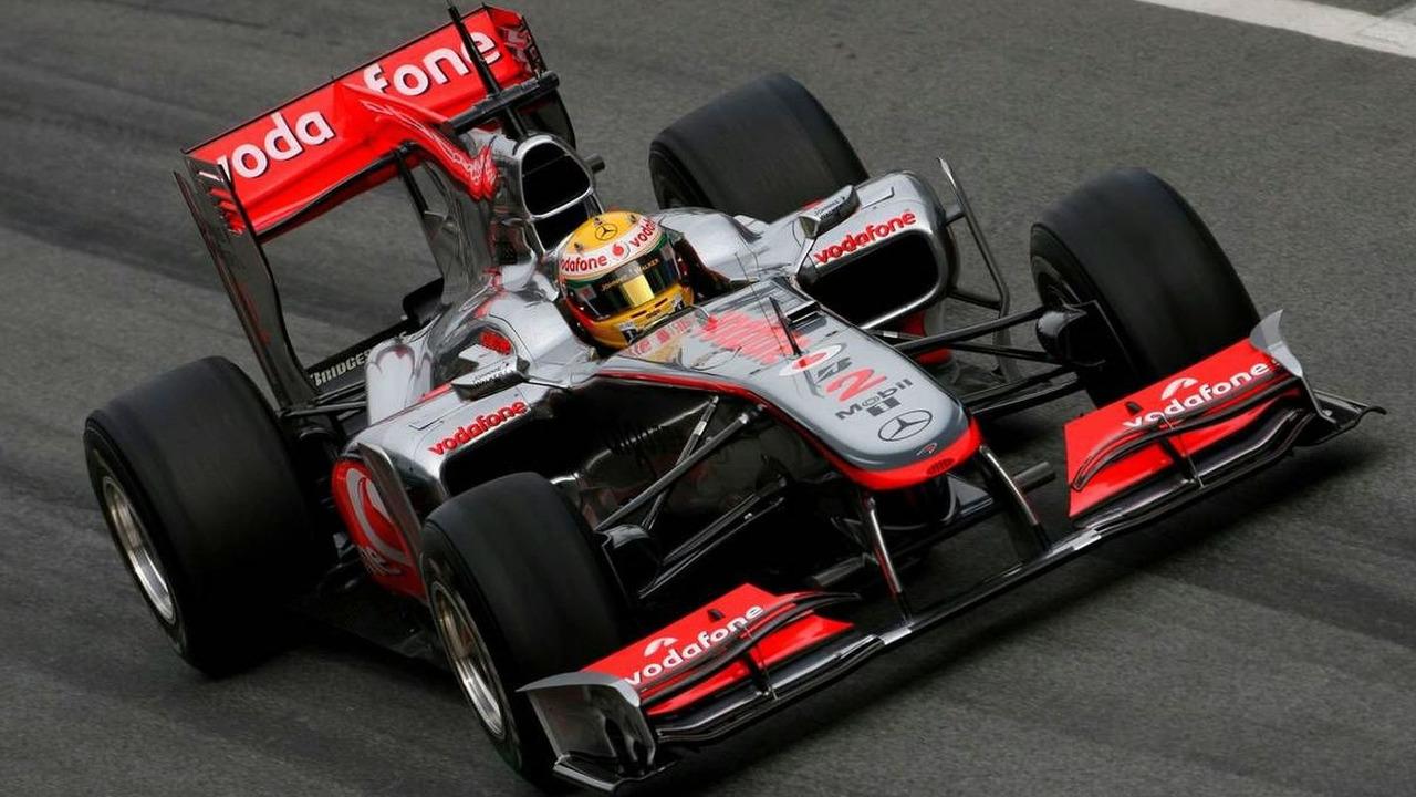Lewis Hamilton (GBR), McLaren Mercedes - Formula 1 Testing, 28.02.2010, Barcelona, Spain