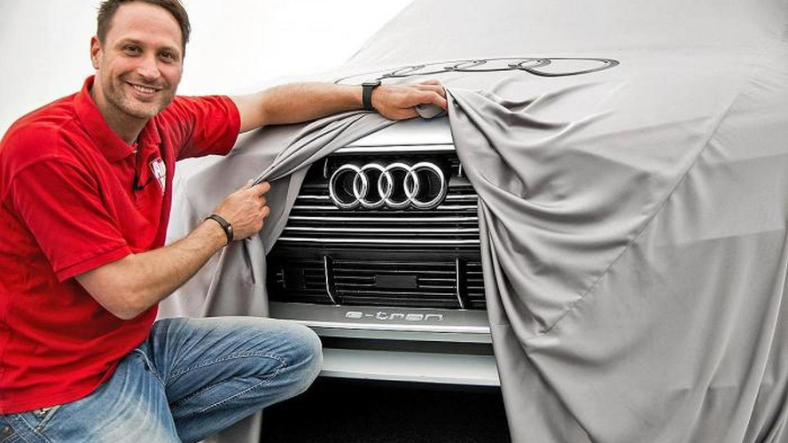 Audi e-tron quattro concept teased once more
