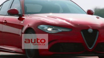 Alfa Romeo Giulia official pictures leaked