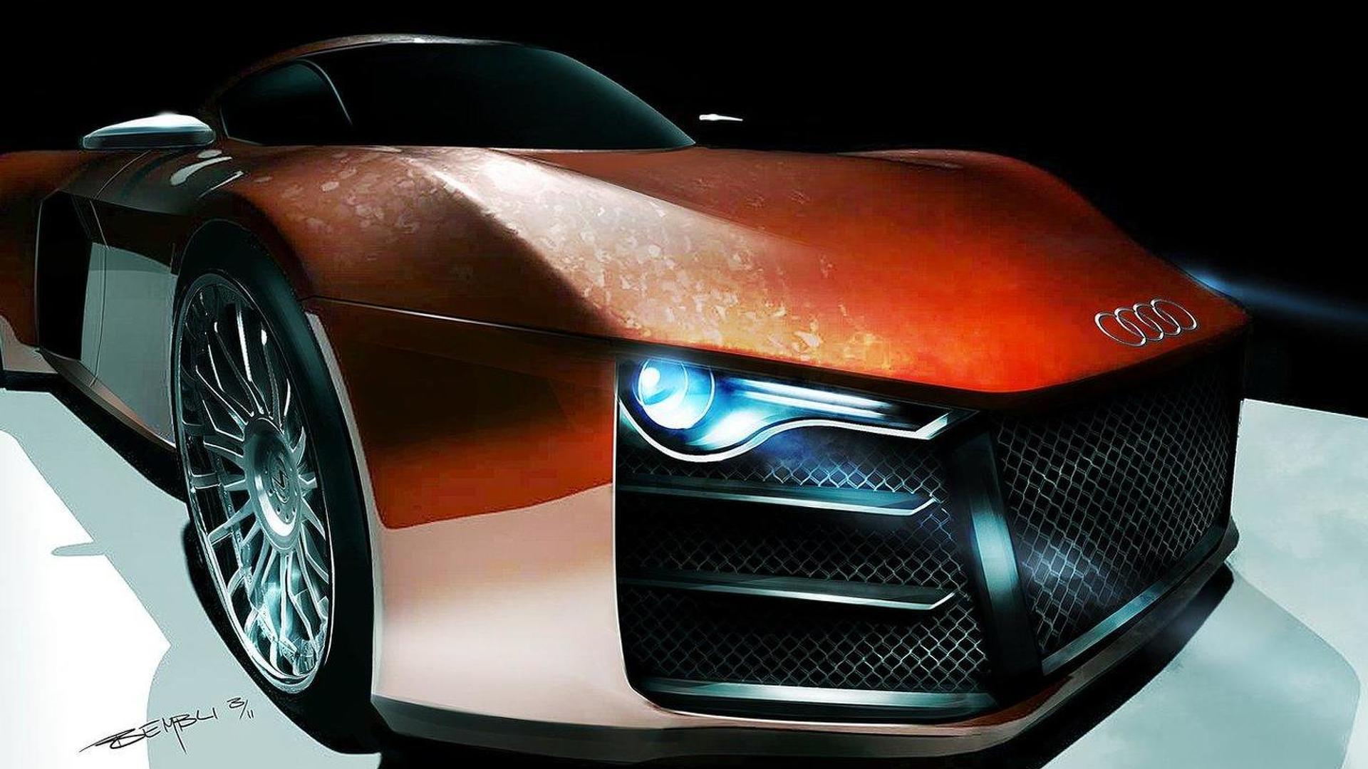 Audi considering R10 diesel hybrid supercar