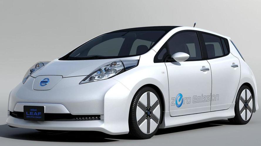 Nissan LEAF Aero Style Concept revealed - 9 debuts at Tokyo Auto Salon
