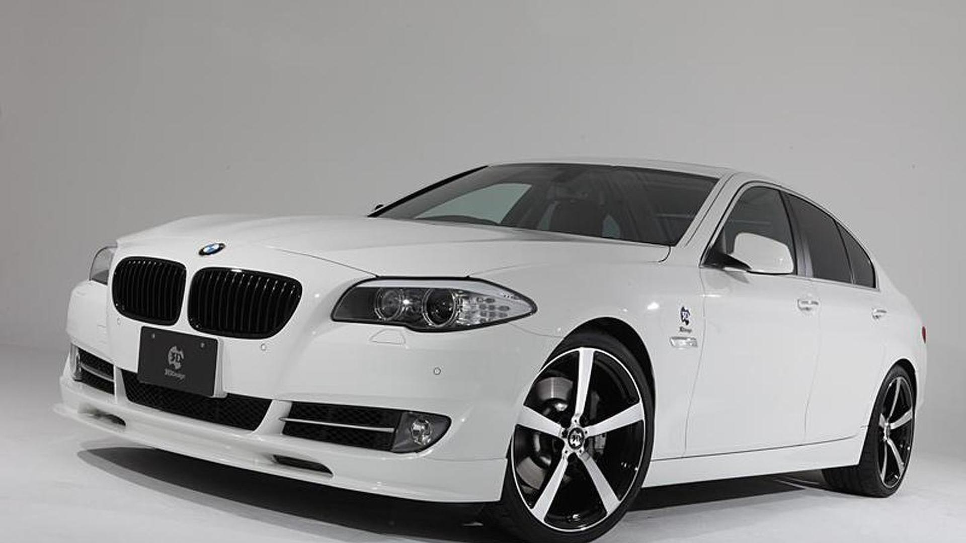 3D Design release aero kit for BMW 5-Series F10