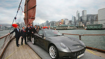 The 1000th Ferrari in Hong Kong on Junk Ship