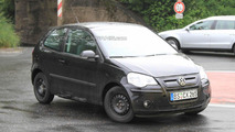Volkswagen Up Mule Wearing shortened Polo Body