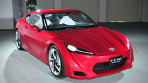 New Toyota FT-86 Concept Photos Reveal all the Details