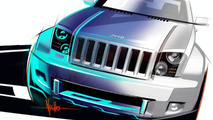 Jeep Trailhawk & Chrysler Nassau Concept Sketches Revealed
