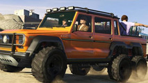 Mercedes-Benz G63 AMG 6x6 arrives in GTA V as 'Dubsta'