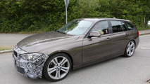 BMW 3-Series sedan & wagon facelift spied