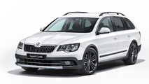 Skoda Superb Combi Outdoor revealed
