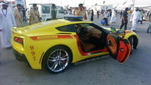 2014 Chevrolet Corvette Stingray for Dubai Fire Brigade 19.11.2013