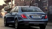 2013 W222 Mercedes S-Class artist render