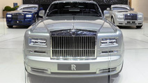 Rolls Royce Phantom Series II unveiled in Geneva with new facelift