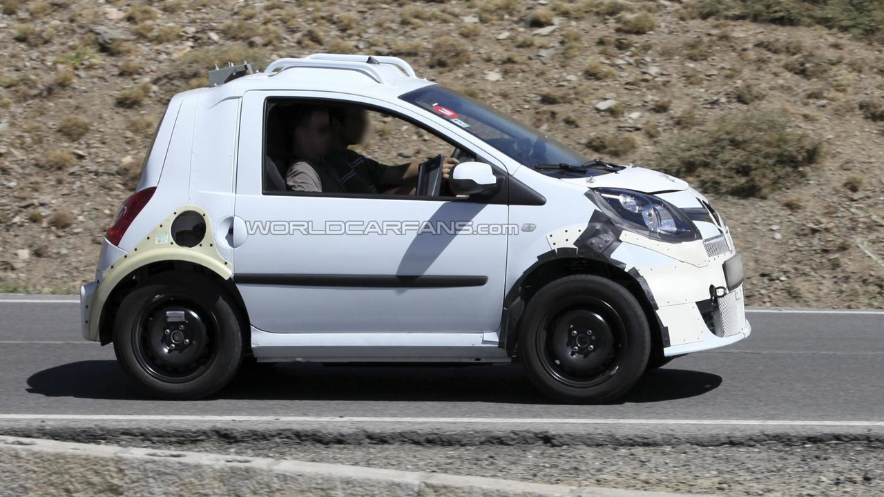 Smart ForTwo mule