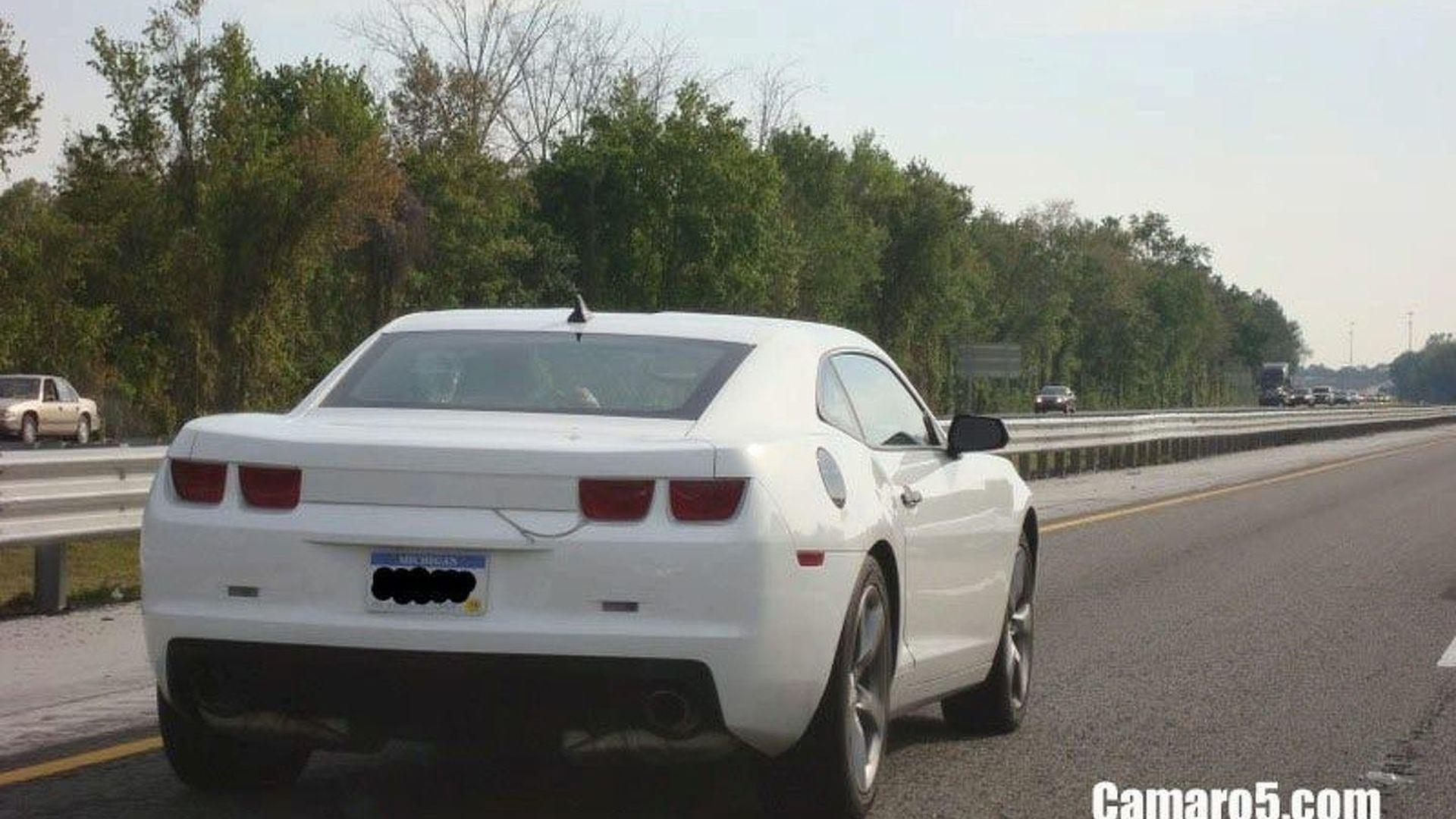 More Camaro spied in Florida