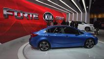 2014 Kia Forte live at LA Auto Show 28.11.2012