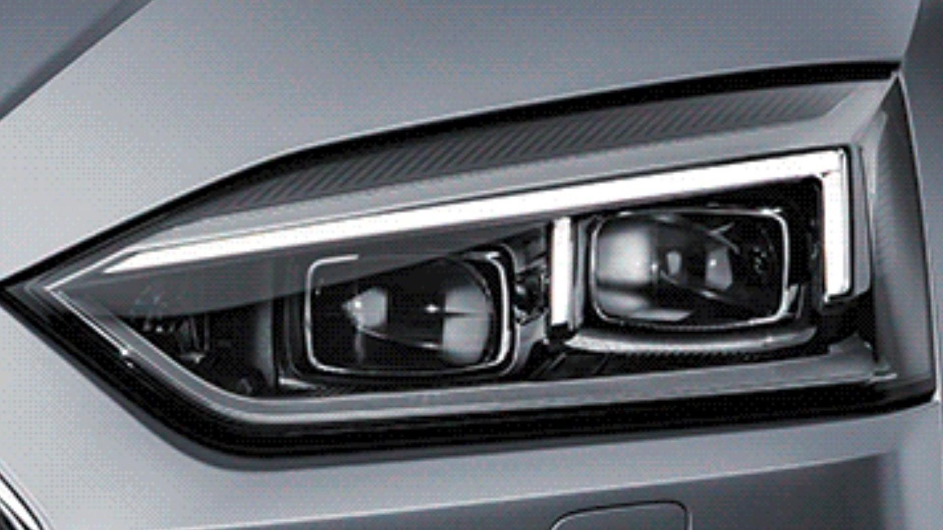 2017 Audi A5 Coupe headlights revealed