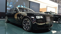 Rolls-Royce Ghost Black Badge live in Geneva