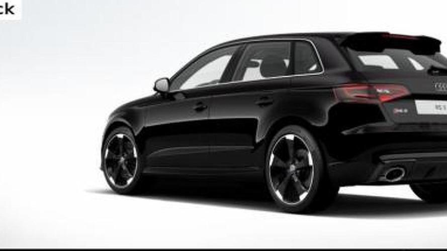 Audi fires up RS3 Sportback online configurator