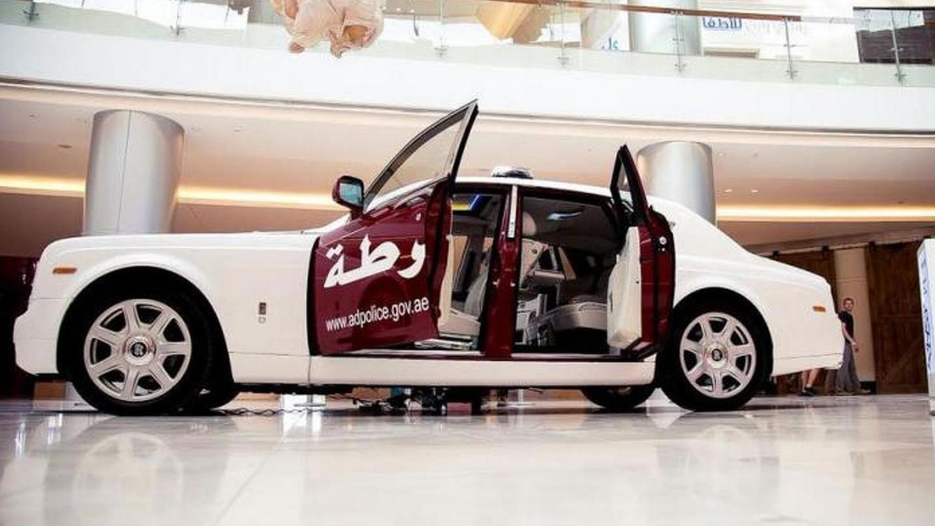 Rolls-Royce Phantom joins Abu Dhabi police fleet