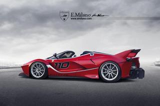 Ferrari FXX K Spider Won't Happen, But Looks Wild