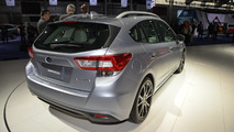 2017 Subaru Impreza live at New York Auto Show 2016