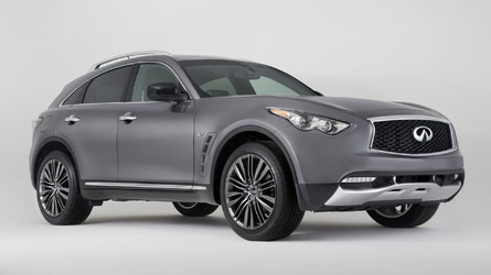 2017 Infiniti QX70 Limited brings visual tweaks to New York