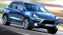 Rendered Speculation: 2011 Porsche Cayenne