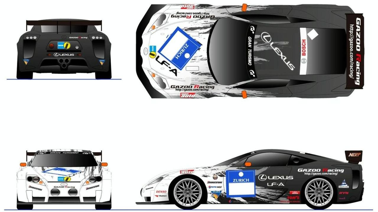 LEXUS LF-A (Race spec.) for NURBURGRING 24 Hours Race - hi res
