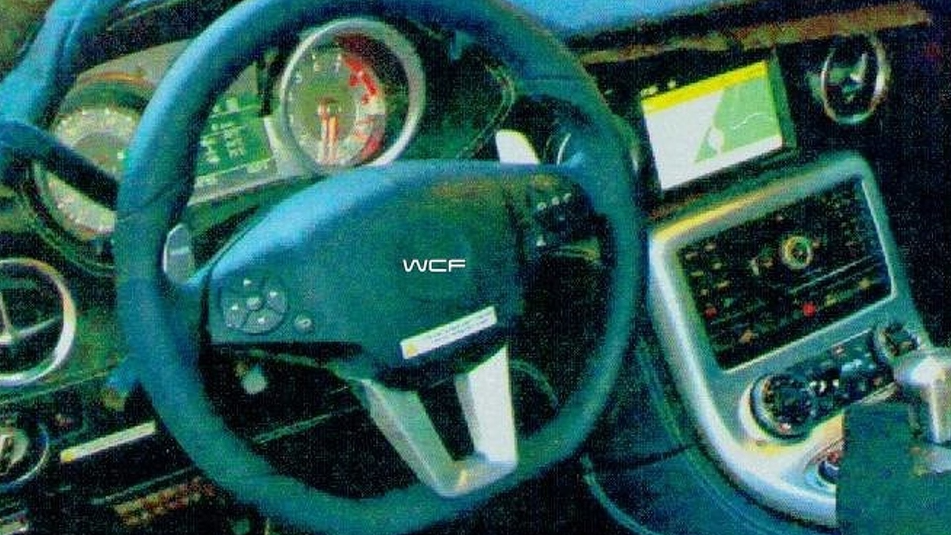 Scans of Mercedes SLC Gullwing interior surface