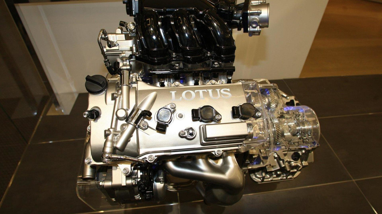 Lotus engine display 16.12.2010
