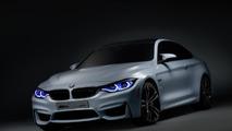 BMW M4 Concept Iconic Lights arrives at CES
