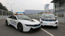 BMW medical and extraction cars unveiled for Formula E