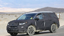Third generation Honda Pilot spied inside and out