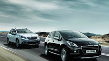 Peugeot 2008 and 3008 Crossway
