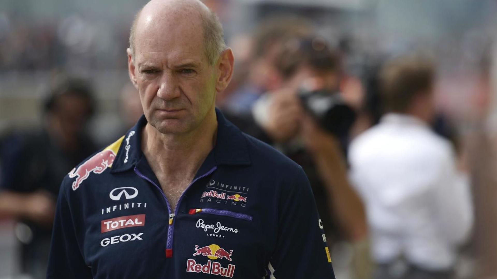 Red Bull insists Newey 'not retiring'