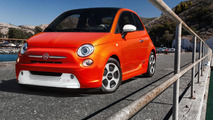 Ten celebrity designed Fiat 500e models headed for auction