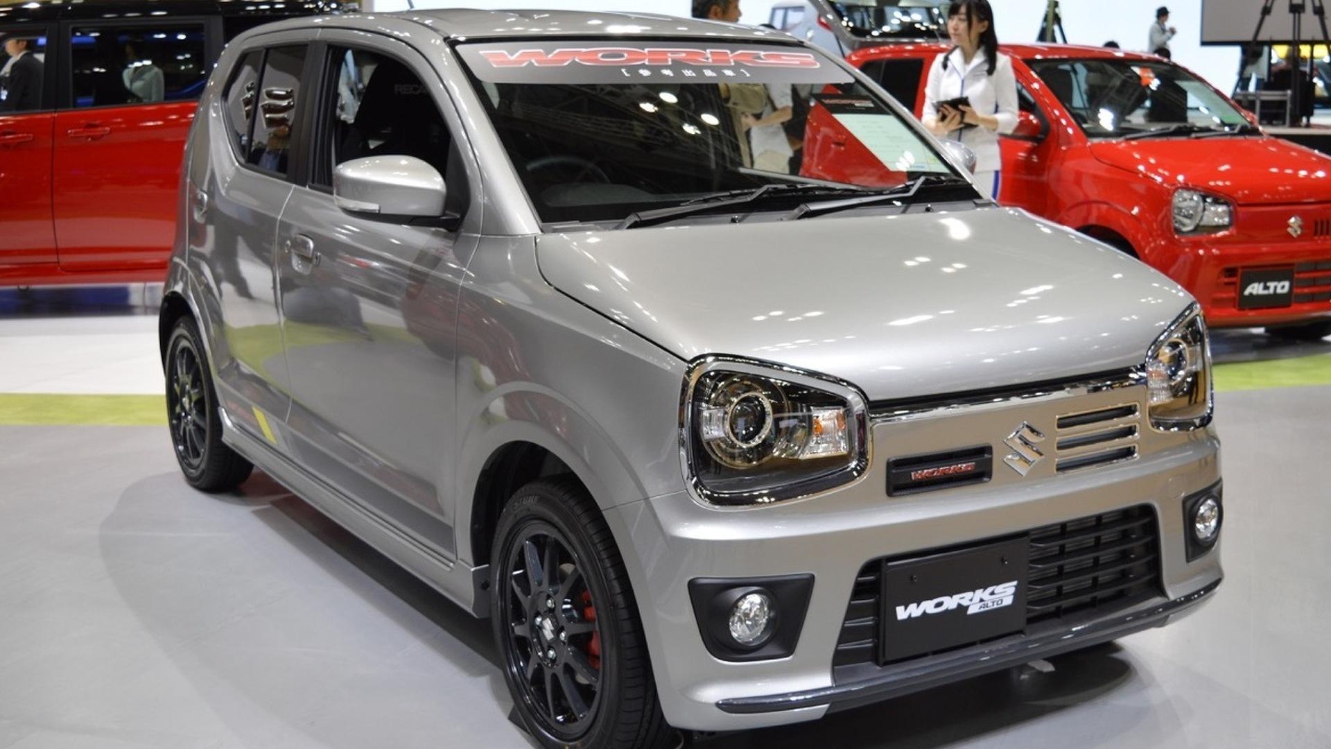 Suzuki Alto Works bows in Tokyo with mighty... 51 bhp
