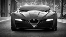 Alfa Romeo 12C GTS Concept by Ugur Sahin previewed [video]