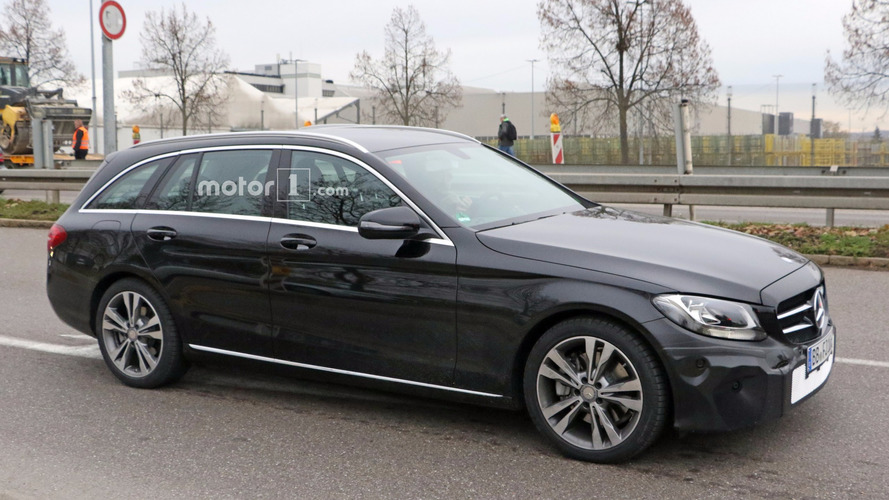 La Mercedes Classe C restylée 2017 berline et break en photos espion