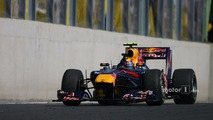 Mark Webber, Red Bull Racing wins the race