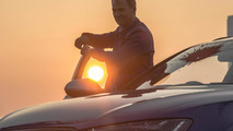 Ben Collins and parkour expert Damien Walters in Audi RS6 promo 04.10.2013