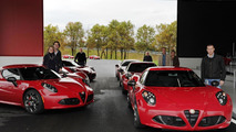 Alfa Romeo 4C launch in Italy