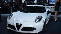 2015 Alfa Romeo 4C live in New York