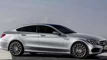 Mercedes-Benz CLF fastback coupe digitally envisioned