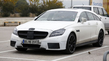 2015 Mercedes CLS 63 AMG Shooting Brake spy photo 12.12.2013
