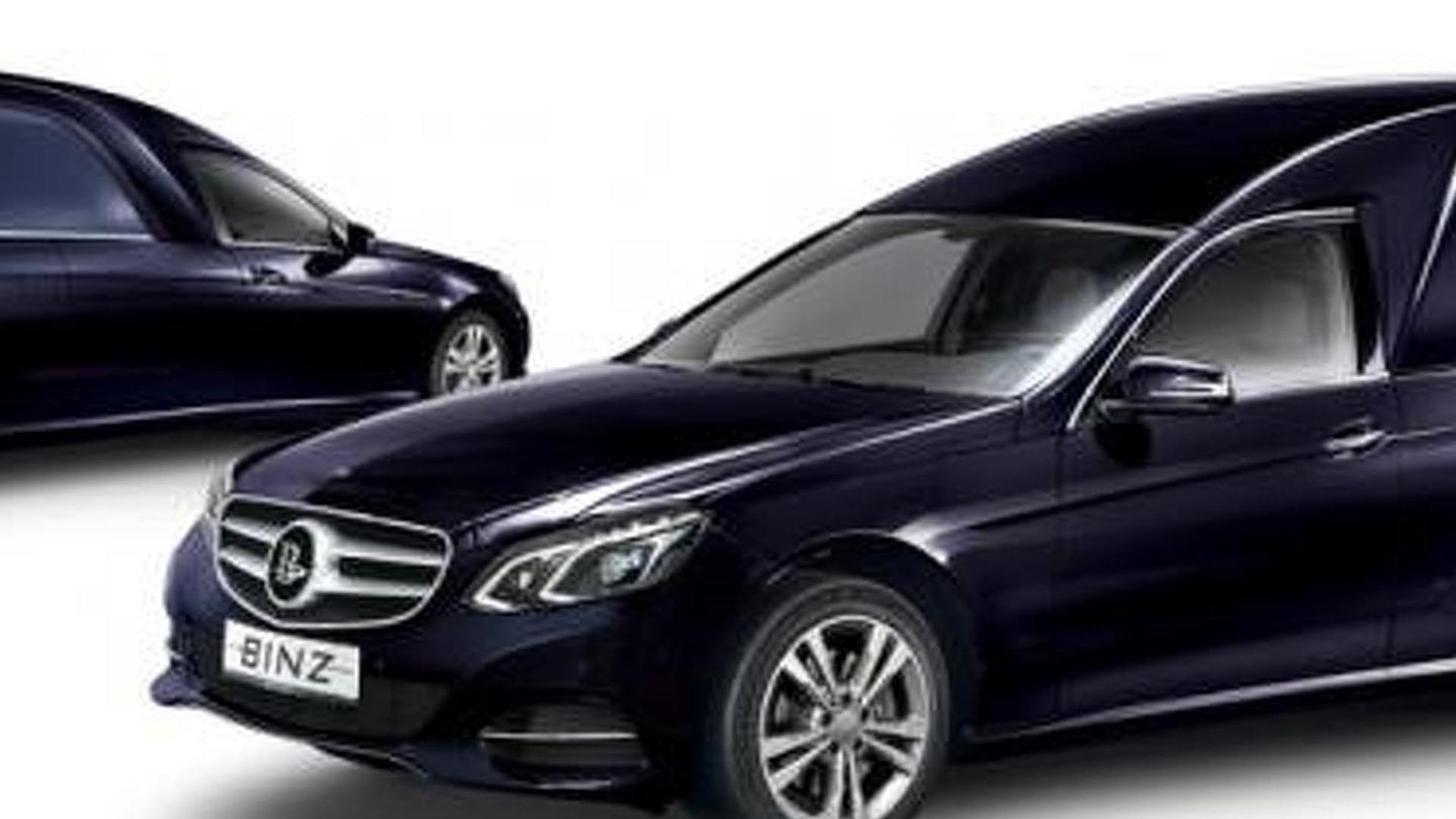 Extremely long wheelbase Mercedes-Benz E-Class facelift spied near Stuttgart [video]