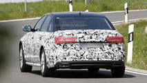 2015 Audi A6 facelift spy photo